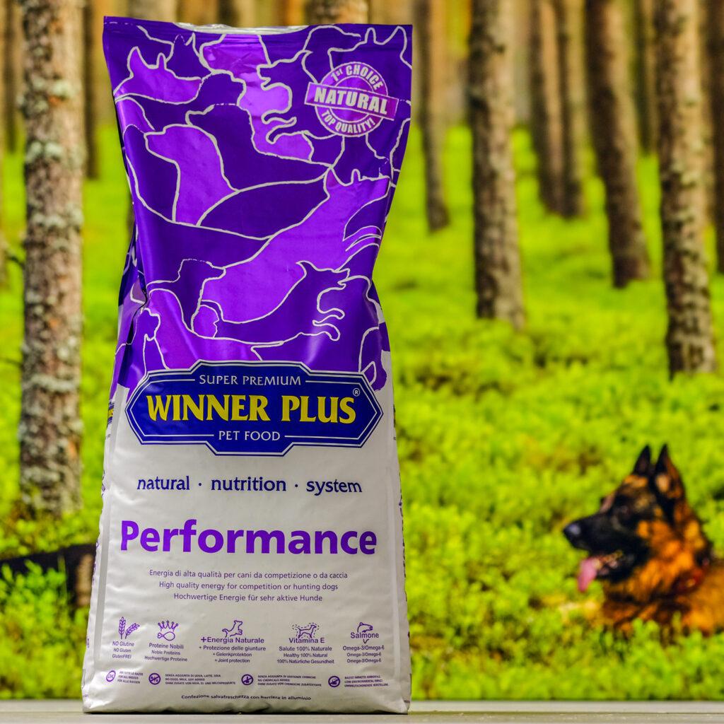 Winner Plus kuivtoit - performance